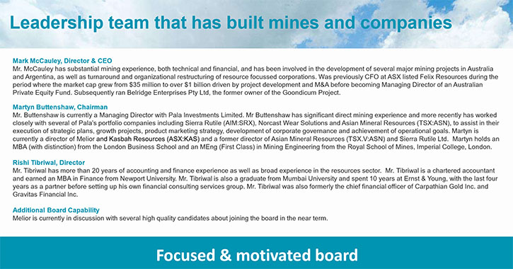 Metals News Melior Resources Inc Tsxv Mlr Well Funded With