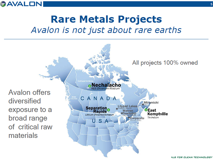 Metals news avalon rare metals tsx and nyse mkt avl offers tin producer with a significant unmined resource awaiting renewed production separation rapids is the largest undeveloped petalite deposit in the world publicscrutiny Image collections